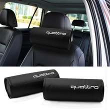 Buy 2x Car Headrest Neck Safety Pillow audi a4 a5 a6 b5 b6 b7 q3 q5 q7 rs quattro s line c5 c6 tt sline a3 a7 for $17.25 in AliExpress store
