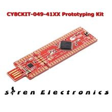 1 pcs x CY8CKIT-049-41XX Development Boards & Kits - ARM PSoC 4100 Prototyping Kit CY8CKIT 049 41XX