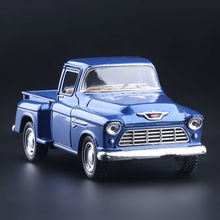 High Simulation Exquisite Collection Toys KiNSMART Car Styling 1955 Chevrolet Stepside Pickup 1:32 Alloy Car Model Best Gifts