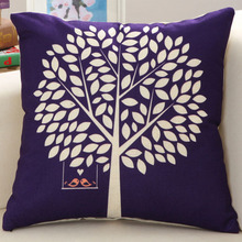 Modern Fashion Pillow Case Soft & Comfortable Cotton Linen Throw Pillow Cover 45X45CM Nice Design For Home Accessories