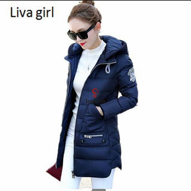 Big Size 7XL Winter Jacket Women 2017 New Europe Style Hooded Slim Medium Long Winter Plus Size Parkas Lady Top Coat HotÎäåæäà è àêñåññóàðû<br><br>