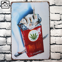 High Life Cigarette Advertising Vintage Tin Signs 20X30CM Metal Iron Plate Wall Decor Poster Plaque Cafe Club Office Lounge Bar(China)
