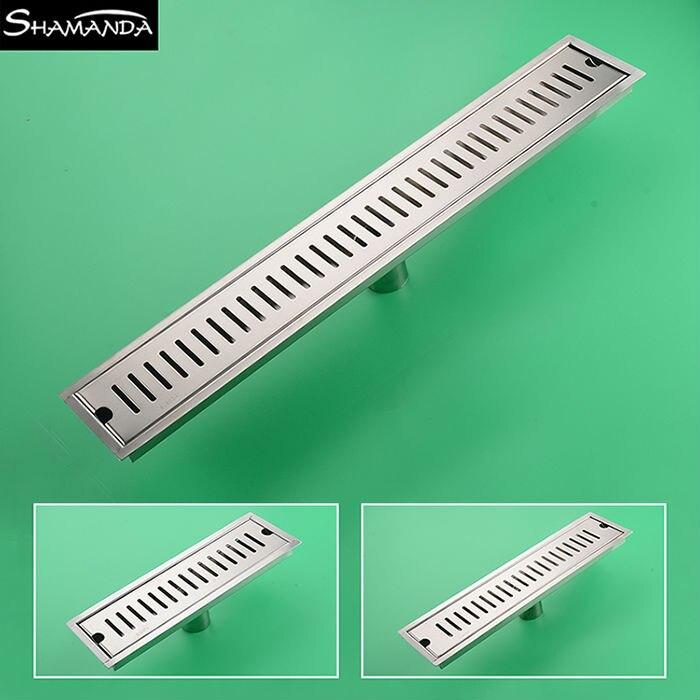 2017 New Free Shipping Various Styles 304 Stainless Steel Nickel/Brass Chrome/ Deodorant Floor Drain Waste Bathroom Drainer<br>