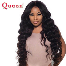 Queen Hair Loose Deep More Wave Brazilian Hair Weave Bundles 100% Remy Human Hair Weaving 1 Bundle Double Weft Hair Extensions(China)