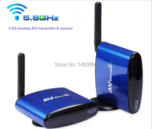 5.8G AV Sender & IR Remote Extender Wireless Transmitter,AV Sender,wireless receiver,Free Shipping,Wholesale
