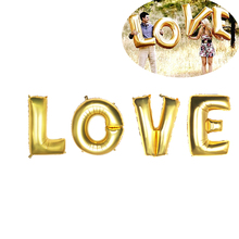 40-inch LOVE Designed Foil Balloon Romantic Mylar Balloons for Valentin's Day Engagement Wedding Party Decoration(China)