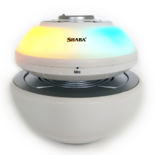 SHABA Bluetooth Speaker LED Mini Wireless Portable Subwoofer Loudspeakers Outdoor Sound Box Hands-free Call With Mic