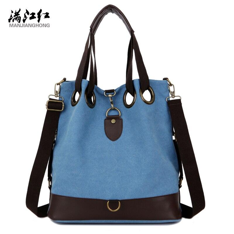 Manjianghong Women Canvas Bag Big Capacity Fashion Casual Popular Canvas Handbag Womans Shoulder Bag Strong Quality 1345<br><br>Aliexpress