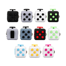 Big Promotion! Fidget Cube Desk Toys for Girl Boys Puzzles & Magic Cubes Anti Stress Anti Irritability Chrismtas Gifts 11 Colors