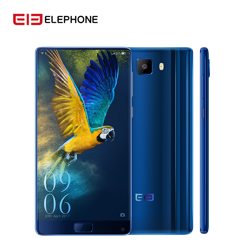 Elephone S8 Smartphone 6 Inch 4G LTE Android 7.1 Helio X27 Deca Core 4+64 21.0MP Fingerprint ID Mobile Phone Cellphone 4000mAh