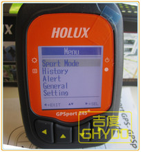 Holux Outdoor sports Bicycle bike handheld GPS receiver GPSport 245+ GR-245+ waterproof display time speed latitude longitude(China)
