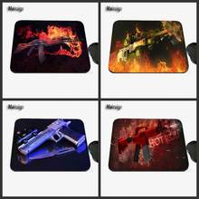 Computer Game Table Pad Super CSGO Counter Strike Gun Series Photo Print Rubber Rectangle Mouse Pad PC Computer Rubber Pad(China)