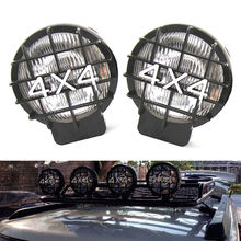 Roof & Bumper Halogen Driving Fog Light Spot Lamp Fit For Jeep 4x4 Truck Pickup 2PC