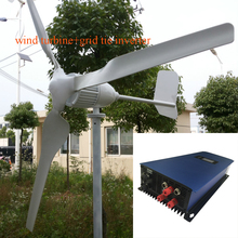 MAYLAR@ 1000W 24V Wind Turbine Dolphin+1000W 22-60VDC Wind Grid Tie Inverter(China)