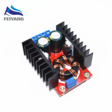 new 1pcs SAMIORE ROBOT 150W Boost Converter DC-DC 10-32V to 12-35V Step Up Voltage Charger Module