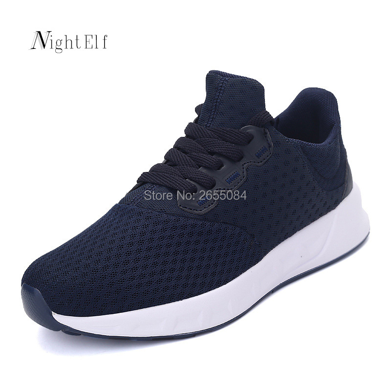 Night Elf men running shoes women breathable air mesh tennis sneakers 2017 autumn Winter lovers sport training walking shoes new<br><br>Aliexpress