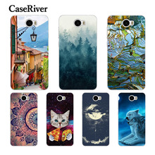 "CaseRiver For Huawei Y52 Y5 II Y5II / Honor 5A LYO-L21 Case Cover, Soft Silicone Case Cover FOR Huawei LYO L21 5.0"" Phone Case"