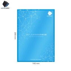 ANYCUBIC FEP лист/пленка 5 шт. 0,15-0,2 мм Fep 140x200 мм 3d принтер Impresora filamento для фотонных фотонов SLA 3d принтер