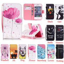 For iPhone 4S Case Fashion Soft Leather Case For iPhone 4 4S 4G Flip Book Design Cell Phone Cover with Wallet Handbag + Lanyard(China)