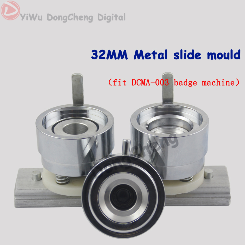 Round 32MM badge mould of high quality aluminium badge making machine mould date filming mold Machine bouton Maker<br><br>Aliexpress