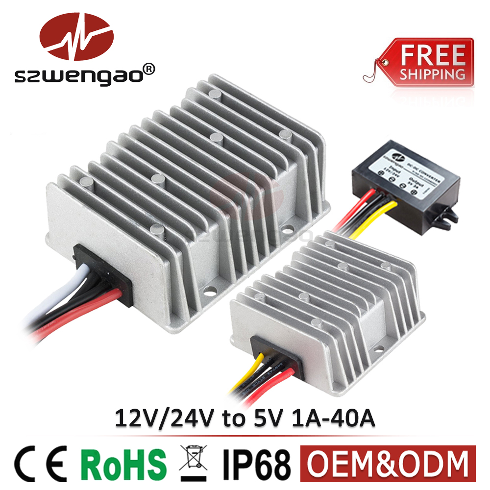 Promo Of Dc In Leidtpabao Voltage Regulator 12v 15a For Battery By Mc34063 Free Shipping 40a To 5v 24v 3a Converter 10a 30a Step Down Power Converters With Usb Output
