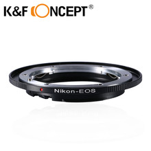 K&F CONCEPT Camera Lens Mount Adapter Ring For Nikon F AI Ai-S Lens+ Infinity Focus On For Canon EOS EF 500D 5D 550D 30D 350D