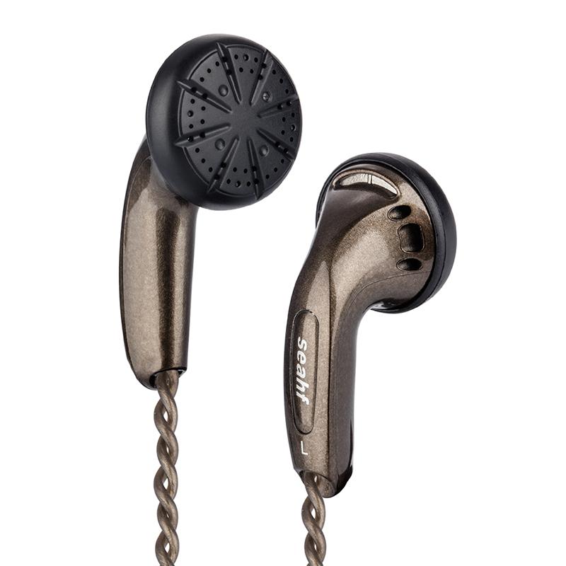 Seahf AWK-F650S 650ohm High Impedance In Ear Earphone Flat Head Plug earbuds 650 Ohms Hifi bass earphones (5)