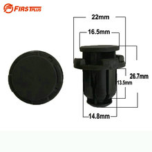 14.8mm Hole Car Push Clips Automotive Door Panel Rivet Retainer Bumper Fender Clips For Suzuki Grand Vitara sx4