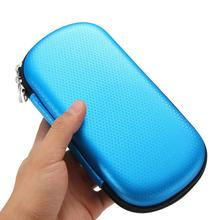 Newest Black Earphone Case Storage Bag USB Flash Drive HDD Travel Organizer Case Pouch(China)