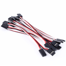 For 10pcs 10cm Quadcopter Servo Extension Lead Futaba JR Male to Male Wire Cable Free Shipping