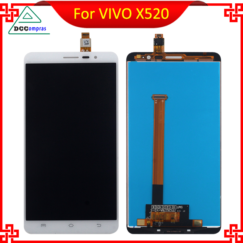 High Quality For VIVO X520 FPC9276A LCD Display With Touch Screen White Color Mobile Phone Repair Parts Free Tools<br><br>Aliexpress