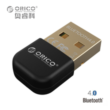 Bluetooth 4.0 Adapter USB Dongle Transmitter Receiver for PC for  Windows Vista Compatible Bluetooth 2.1/2.0/3.0 (ORICO BTA-403)