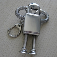 Metal USB 2.0 8/16/32/64GB Robot USB Flash Drive 128GB 512GB Creativo Pendrive 2TB 1TB Memory Stick Pen Drive 64GB Cool Gift 2.0(China)