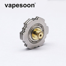 VapeSoon Atomizer Heat Sink Fidget Spinner 510 E Cigarette Heat Sink Stand 24.5mm For 510 Thread Atomizer(China)