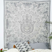 Cilected India Mandala Tapestry Buddha Printed Hanging Wall Clothes Bohe Curtain Cloth Table Picnic Cloths Beach Hippie Tapestry(China)