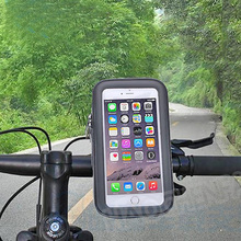 Mode Waterproof bag Bicycle Bike Mount Holder Mobile Case Cover For Apple iphone Samsung Galaxy