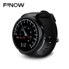 Новый finow I4 Pro Smart часы ОЗУ 2 ГБ/ROM 16 ГБ MTK6580 двухъядерный watchphone Android 5.1 3G bluetooth SmartWatch для andorid/IOS(China)