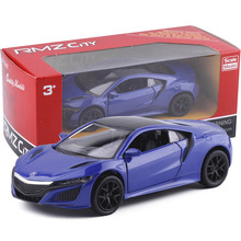 UNI 1/36 Scale Japan Acura 2017 Diecast Metal Pull Back Car Model Toy New In Box For Gift/Kids/Collection/Decoration