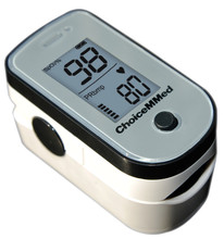 10pcs ChoiceMMed Professional Medical Fingertip Pulse Oximeter Blood Oxygen SpO2 PR Monitor FDA Approved MD300C15F