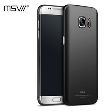 MSVII Brand Luxury Updated 4-Level Oil-Painting Case for Samsung Galaxy S7(5.1'') & S7 edge(5.5'') Hard PC Smooth/Frosted Cover