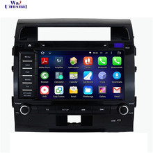 Android 5.1.1 Car GPS for Toyota Land Cruiser 200(2008 2009 2010 2011 2012) Map+DVD+Radio+RDS+Bluetooth+WiFi+AUX+Mirror Link