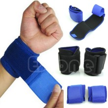 New Adjustable Sports Wrist Brace Wrap Bandage Support Gym Strap Wristband(China)