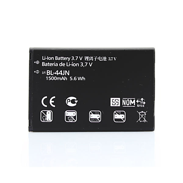 1500mah Mobile Phone Replacement Battery BL-44JN For LG Optimus Black P970 QL55C Straight Talk Cell Phone Bateria Batterij(China)