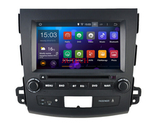 Android 5.1.1 Car Radio GPS Navigation DVD Stereo for mitsubishi outlander Citroen C-Crosser Peugeot 4007 car multimedia system