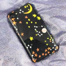 Case For iPhone 6 s Coque Soft TPU Case Universe Moon Star Planet For iPhone 7 8 6 6s plus IMD Silicon Back Cover(China)