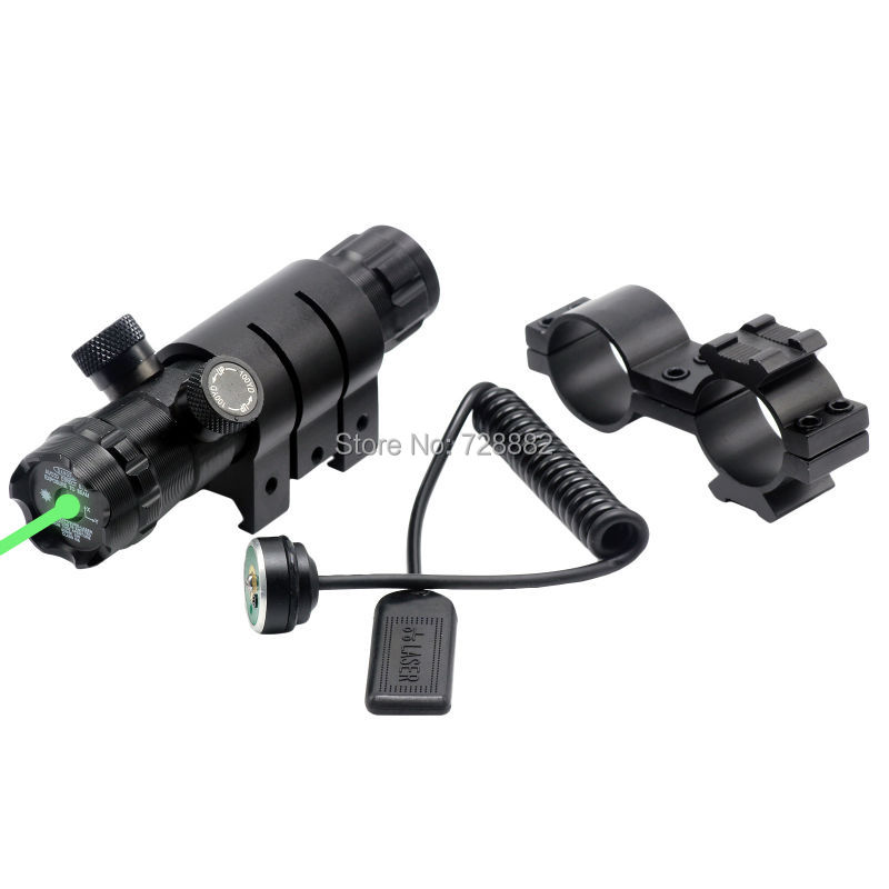 532nm Green Dot Laser Sight Adjustable Mount Airsoft Riflescope Tactical Laser For Hunting<br><br>Aliexpress