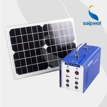 ***Without Battery***  Saip/Saipwell High Quality 12V 12AH Portable Solar System Generator,Solar Power System (ES-1212)