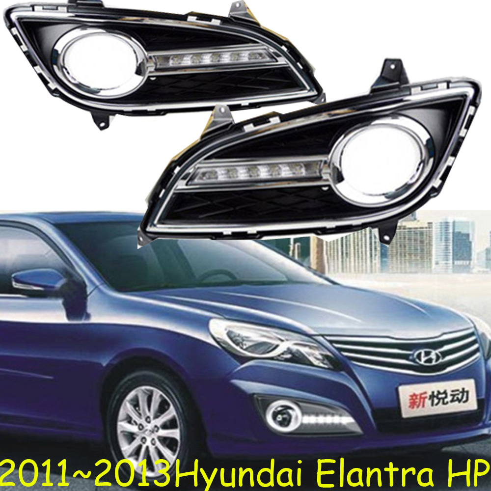 2011~2013 Elantra daytime light,tucson,santa fe,Free ship to your door!accent,LED,Elantra fog light,2ps/set;solaris;ix45<br>