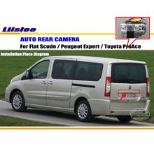 License Plate Light OEM / HD CCD Night Vision / Car Rear Camera / Reverse Camera For Fiat Scudo / Peugeot Expert / Toyota ProAce