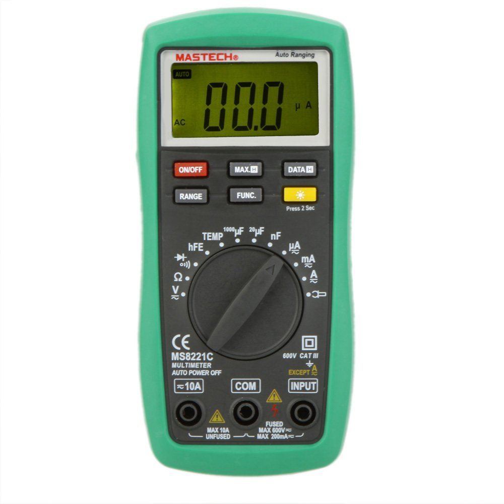 Brand new MASTECH MS8221C Auto Ranging Digital Multimeter compared <br>